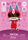 AmiiboCardKid Cat