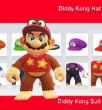 Mario amiibocostume diddy