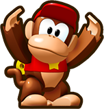 Mini Diddy Kong Artwork