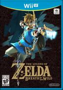 The Legend of Zelda Breath of the Wild Box Art