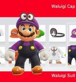 Mario amiibocostume waluigi