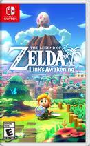 The Legend of Zelda Link's Awakening cover