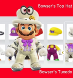 Mario amiibocostume weddingbowser