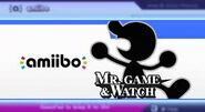 Mr. Game and Watch amiibo
