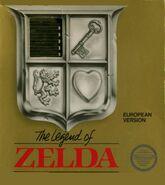 Caja de The Legend of Zelda (Europa)