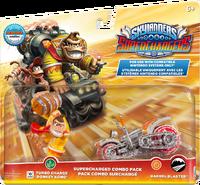 Embalaje del amiibo de Turbo Charge Donkey Kong - Serie Skylanders