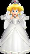Peach con traje nupcial en Super Mario Odyssey