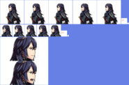 Retratos Lucina - Fire Emblem Fates
