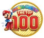 Logo de Mario Party The Top 100