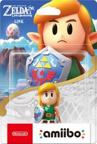 Embalaje europeo del amiibo de Link (Link's Awakening) - Serie The Legend of Zelda
