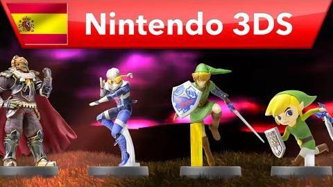 Hyrule Warriors Legends - Tráiler amiibo (Nintendo 3DS)