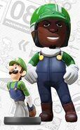 Mii usando el atuendo de Luigi - Mario Kart 8