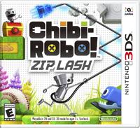 Caja de Chibi-Robo! Zip Lash (América)