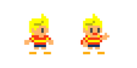 Traje de Lucas - Super Mario Maker