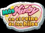 Logo de Más Kirby en el reino de los hilos