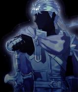 Retrato Ike - Fire Emblem Echoes Shadows of Valentia