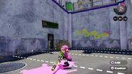 Conjunto completo del amiibo del inkling chica en combate - Splatoon