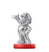 Amiibo Mario - Edición plata - Serie Super Mario