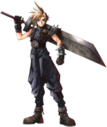 Cloud en Final Fantasy VII