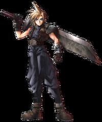 Cloud en Final Fantasy VII