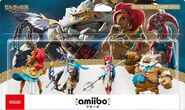 Embalaje japonés del pack de los Cuatro Elegidos - Serie The Legend of Zelda