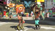 Imagen oficial de Marina en el modo fotografía - Splatoon 2