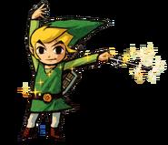 Toon Link en The Legend of Zelda - The Wind Waker