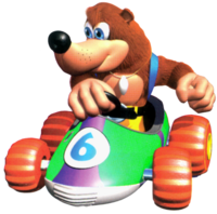 Banjo en Diddy Kong Racing