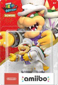 Embalaje americano del amiibo de Bowser (Nupcial) - Serie Super Mario