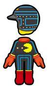 Atuendo de Pac-Man - Mario Kart 8