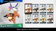 Elección de apariencia para amiibo - Super Smash Bros. Ultimate
