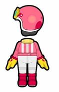 Atuendo de Kirby - Mario Kart 8