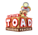 Logo Captain Toad Treasure Tracker