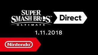 Super Smash Bros. Ultimate Direct – 1 de noviembre de 2018