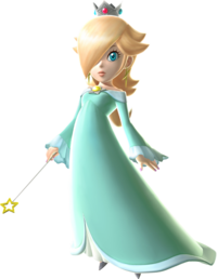 Artwork de Estela en Super Mario Galaxy