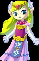Zelda en The Legend of Zelda The Wind Waker HD