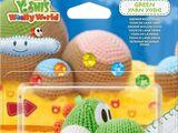Yoshi de Lana verde - Yoshi's Woolly World
