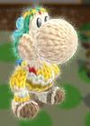 Patrón Palutena - Yoshi's Woolly World