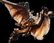 Rathalos en Monster Hunter
