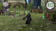 Amiibo Gazebo visto en el vídeo de Gamestop de Fire Emblem Three Houses
