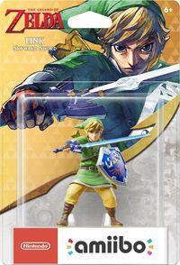 Embalaje americano del amiibo de Link (Skyward Sword) - Serie 30 aniversario TLoZ