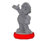 Estatua Individuo admirable - Hey! Pikmin