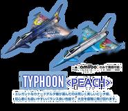 Modelos de los cazas del amiibo de Peach - Ace Combat Assault Horizon Legacy +