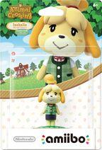 Embalaje americano del amiibo de Canela (ropa de verano) - Serie Animal Crossing