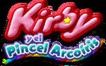 Logo de Kirby y el Pincel Arcoiris