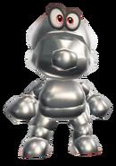 Conjunto de Mario de metal - Super Mario Odyssey