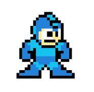 Sprite de Mega Man en Mega Man