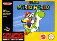 Caja Super Mario World (Europa)