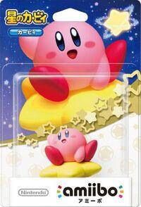 Embalaje japonés del amiibo de Kirby - Serie Kirby
