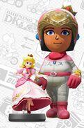 Mii usando el atuendo de Peach - Mario Kart 8